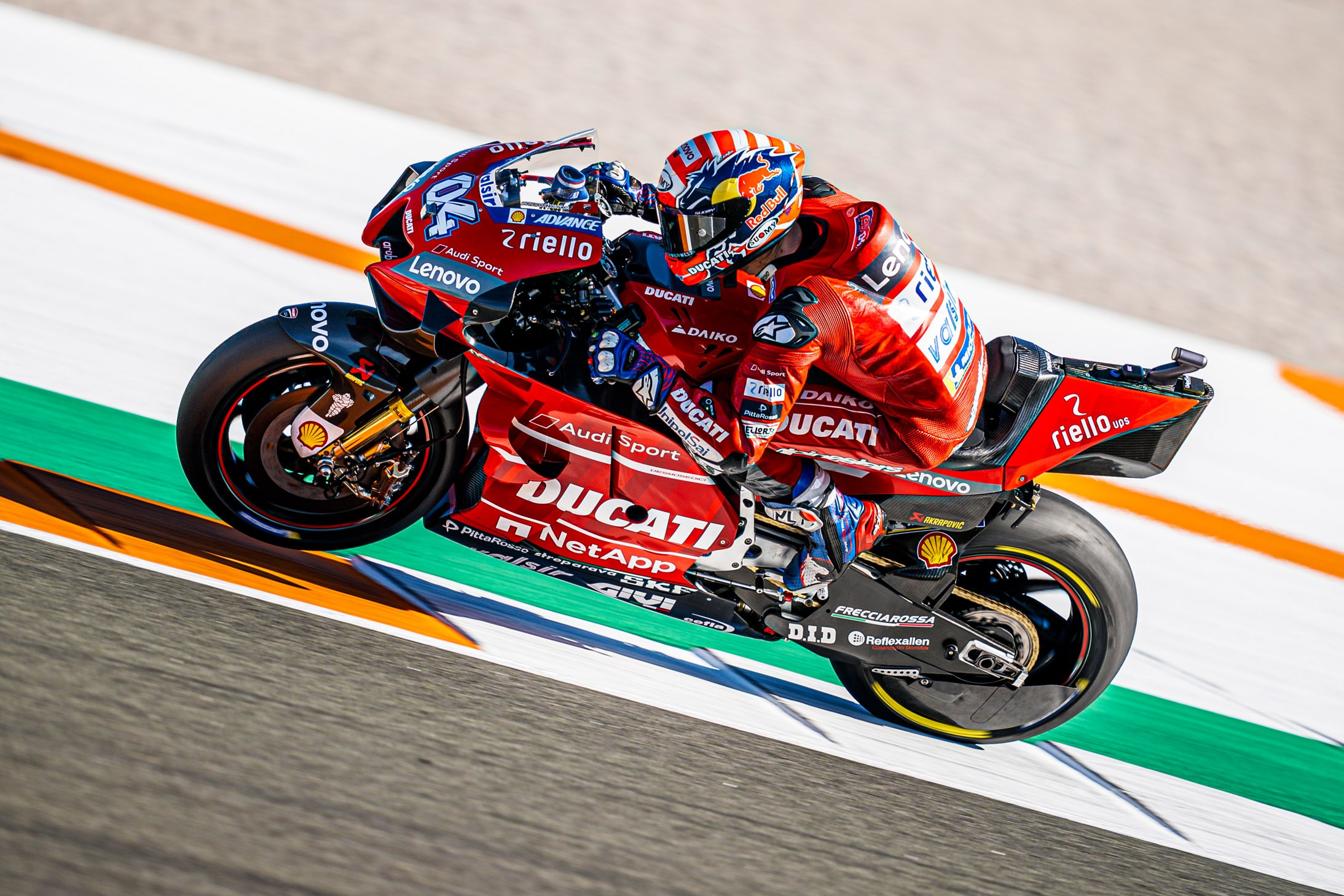 2020 Motogp Season Officially Gets Underway At Valencia Ducati Testing At The Ricardo Tormo Circuit Total Motorcycle